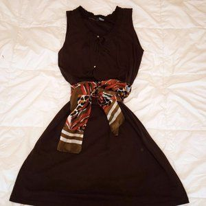 2for30$ Chocolate brown summer dress